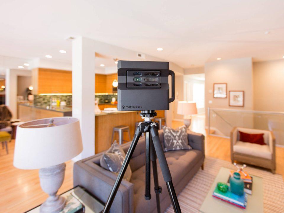 360 fotografie vs 3D sken - 3D prehliadka Matterport